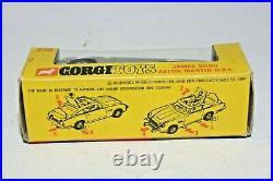 Corgi 270 James Bond Aston Martin, VNM, Rare Slim Box, C/W Envelope & Contents