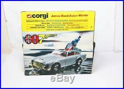 Corgi 271 James Bond Aston Martin In Its Original Box Very Near Mint 007 1977