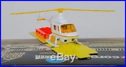 Corgi 930 James Bond Drax Jet Ranger Helicopter. MINT in MINT Box. 1972