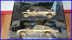 Corgi CC99171 James Bond Aston Martin DB5 & V12 Vanquish Gold Plate Ltd Ed. No. 2