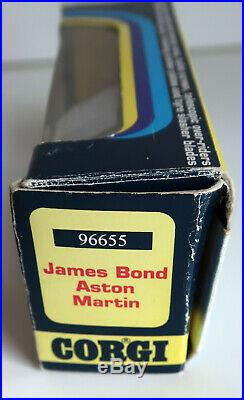 Corgi James Bond 007 Aston Martin DB5 30th Anniversary Limited Edition 96655