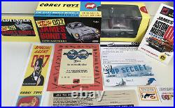 Corgi James Bond 007 Aston Martin DB550th Anniversary Special Edition & Extras