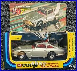 Corgi James Bond 007 Aston Martin Db5 Car Vintage Toy