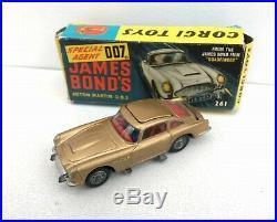 Corgi James Bond 007 No. 261 Aston Martin DB5