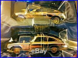 Corgi, James Bond, 24 Carat Gold, Car Set, Aston Martin DB5 & V12 Vanquish