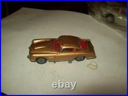 Corgi James Bond Aston Martin Db5 Goldfinger Original Figures Mint Htf Keeper