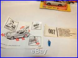 Corgi James Bond Aston Martin Db5 Original Boxed With Secret Instructions No 270
