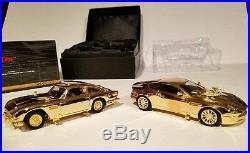 Corgi Limited Edition Aston Martin DB5 V12 James Bond 007 24K Gold MINT