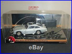 Corgi M+s James Bond 007 Film Movie Silver Aston Martin Db5 Diecast Model Car