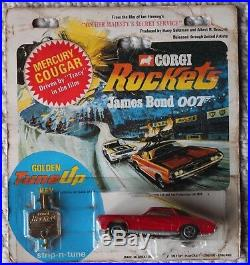 Corgi Rockets James Bond Mercedes OHMSS mercury cougar car mettoy
