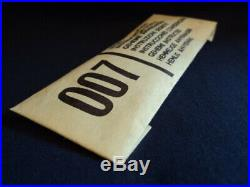 Corgi Toys 1960's 007 James Bond Secret Instructions No261 MINT Ex Shop Stock