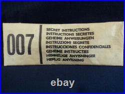 Corgi Toys 1960's 007 James Bond Secret Instructions No261 N/MINT Ex Shop Stock