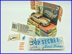 Corgi Toys 261, Aston Martin DB5 James Bond, 007, Ultra Rare, F. A. O Schwarz