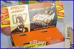 Corgi Toys 261 Aston Martin James Bond 007 Vn Mint Boxed Rare Selten Raro