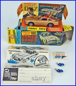 Corgi Toys 261 James Bond 007 Aston Martin D. B. 5 mit BOX