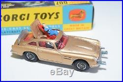 \\ Corgi Toys 261 James Bond 007 Aston Martin Db5 D. B. 5 Near Mint Boxed