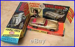 Corgi Toys 261 James Bond Aston Martin DB5 1965 Box Diecast Model 007