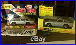Corgi Toys 270 Aston Martin James Bond 1st Issue Bubble Pack and Window Box