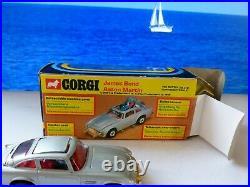 Corgi Toys 270 James Bond Aston Martin late edition with original box