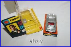 Corgi Toys 270 Silver James Bond Aston Martin 1st Issue Winged Box