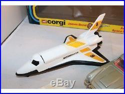 Corgi Toys Gift set 22 James Bond Aston Martin Lotus & Shuttle mint in box