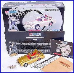Corgi Toys JAMES BOND 007 COLLECTION ASTON MARTIN DB. 5 + Fig. 04201 MIB`97 RARE