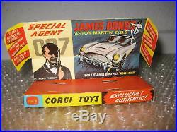 Corgi Toys Nr. 261 James Bond Aston Martin DB 5 in Original BOX /S156