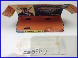 Corgi toys 261 James Bond Aston Martin boxed all original