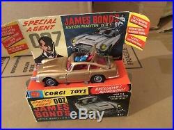 Corgi toys no 261 James Bond Aston Martin db5 near mint boxed original