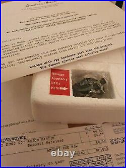 DANBURY MINT ASTON MARTIN JAMES BOND DB5 1st EDITION NEW BOX & CERTIFICATE