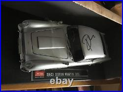 DANIEL CRAIG AUTOGRAPHED ASTON MARTIN DB5 JAMES BOND CAR. LIMITED 59/100 With CO