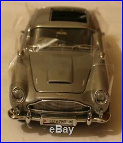 Danbury 124 Mib Aston Martin Db5 James Bond 007 Goldfinger Mint In Box Awesome