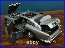 Danbury/Franklin mint 124 james bond 007 1964 Aston Martin db5 Classic model 18