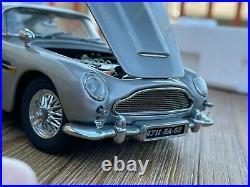 Danbury Mint 124 James Bond 007 Aston Martin DB5 Goldfinger/Thunderball