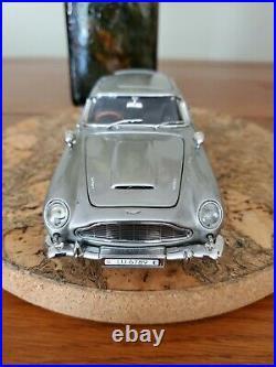 Danbury Mint Aston Martin Db5 James Bond Silver Birch Coupe. Free Post