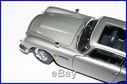 Danbury Mint Aston Martin James Bond Silver Birch Db5 Coupe For Repair