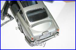 Danbury Mint Aston Martin James Bond Silver Birch Db5 Coupe For Spares Repair