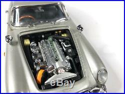 Danbury Mint JAMES BOND 007 ASTON MARTIN DB5 124 Excellent Condition