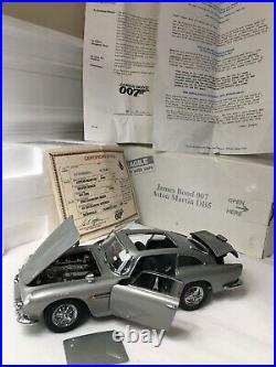 Danbury Mint James Bond 007 Aston Martin DB5 Die-Cast 124 BOX