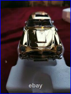 Danbury Nuova 124 Aston Martin Db5 Gold James Bond + copertura in plexigas
