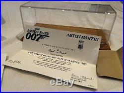 Danbury mint James Bond Aston Martin DB5, with paperwork, Boxed