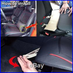 Deluxe Edition 5-Seat Car Front Seat Seat Cover Cushion For Interior Accessories