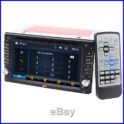 Double 2Din 6.2 Car DVD MP3 MP5 Player Touch Screen In Dash Stereo Radio GPS BT
