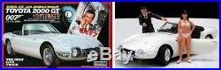 Doyusha 1/20 TOYOTA 2000GT + 1/24 Aston Martin DB5 007 James Bond Model Kits