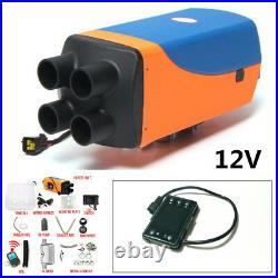 Durable 5KW 12V Diesel Air Heater 10L TankLCD Remote Control For Truck Car Boat