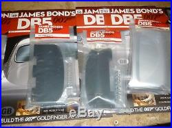 Eaglemoss 1/8 Aston Martin DB5, James bond, Goldfinger magazines & parts 1 to 86