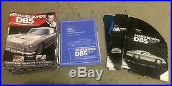 Eaglemoss Build 1/8 Scale James Bond's Aston Martin Db5 007 Parts Complete