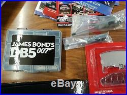 Eaglemoss Build Your Own 007 James Bond Aston Martin DB5 Issues 1-55 Plus Extras