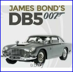 Eaglemoss build the James Bond Aston Martin DB5 complete kit 1-86