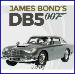 Eaglemoss build the James Bond Aston Martin DB5 complete kit 1-86 plus tools